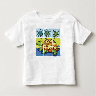 """""""SLOW AS A TURTLE"""""""" TODDLER T-SHIRT"""