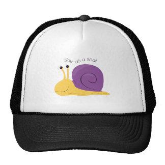 Slow As Snail Trucker Hat