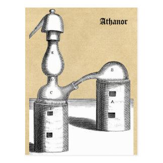 Slow-burning Alchemical Furnace Postcard