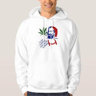 slow burning hooded sweatshirt