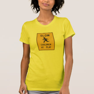 Slow Children At Play Street Sign T-Shirt