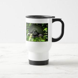 Slow Commando - Army Turtle 15 Oz Stainless Steel Travel Mug