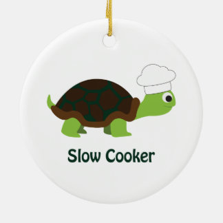 Slow Cooker Ceramic Ornament