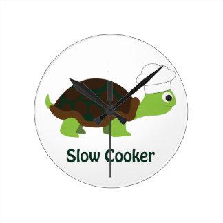 Slow Cooker Round Clock