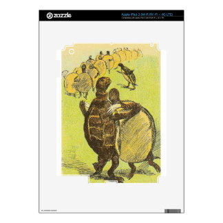 Slow Dance Turtles Decal For iPad 3