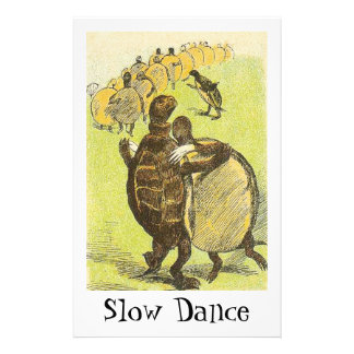 Slow Dance Turtles Stationery