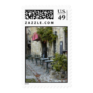 Slow Day at the Cafe Postage