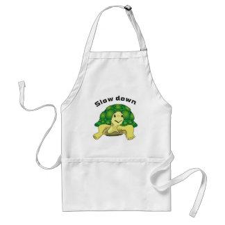 Slow down adult apron