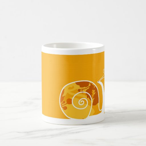 Slow down basic white mug