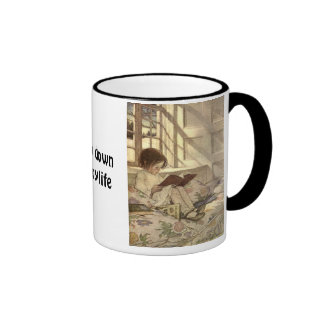 Slow Down ... Enjoy Life Ringer Mug