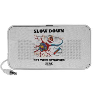 Slow Down Let Your Synapses Fire Neuron / Synapse Mini Speakers