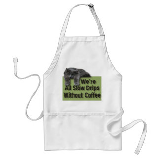 Slow Drip Aprons