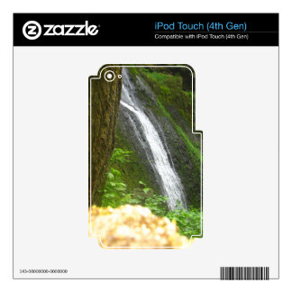 Slow Falls Skins For iPod Touch 4G