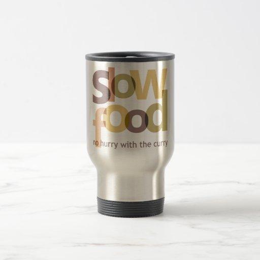 Slow Food 15 Oz Stainless Steel Travel Mug