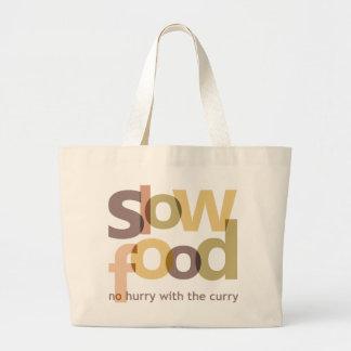Slow Food Tote Bag
