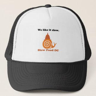 Slow Food DC Logo Trucker Hat