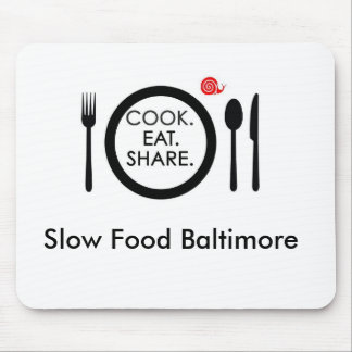 Slow Food Mouse Pad