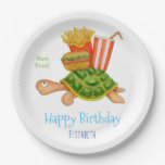 Slow Food Paper Plate
