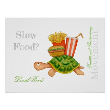 Slow Food Poster