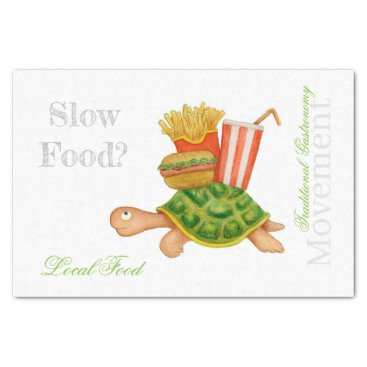 Slow Food Tissue Paper