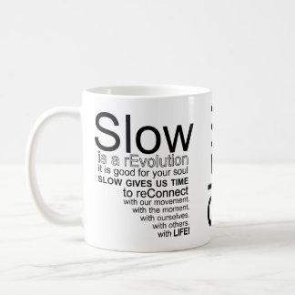 Slow Is a reEvolution Manifesto Mug
