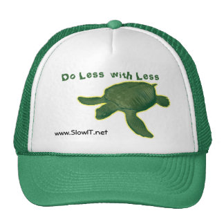 Slow IT caps Trucker Hat