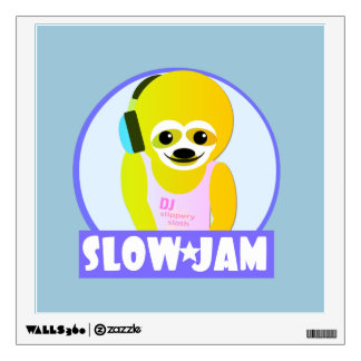 Slow Jam Wall Decal