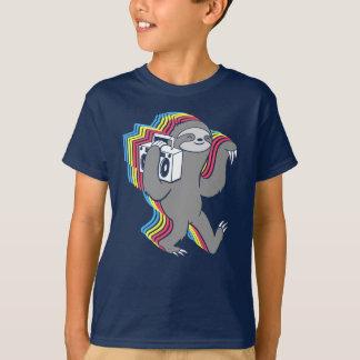 Slow Jams (Boombox Sloth) T-Shirt