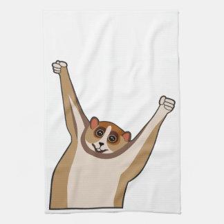 Slow Loris Tickle 1 Towels
