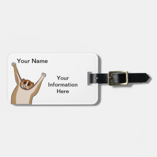Slow Loris Tickle 1 Tags For Bags