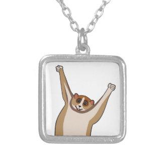 Slow Loris Tickle 1 Personalized Necklace