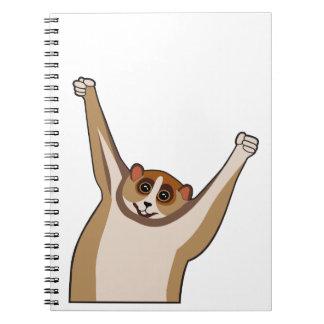 Slow Loris Tickle 1 Notebook