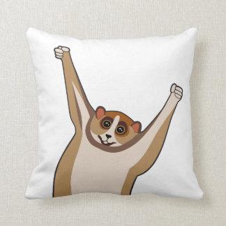 Slow Loris Tickle 1 Pillows