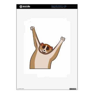 Slow Loris Tickle 1 Skin For iPad 2