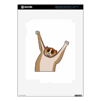 Slow Loris Tickle 1 iPad 3 Skins