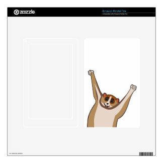 Slow Loris Tickle 1 Skin For Kindle Fire