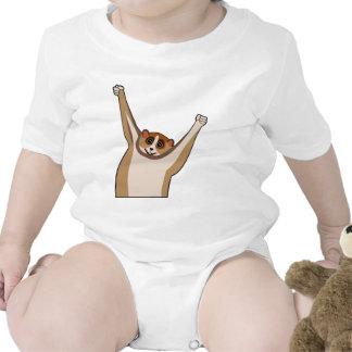 Slow Loris Tickle 1 Baby Bodysuits