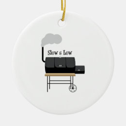 Slow & Low Ceramic Ornament