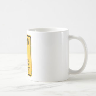 Slow Minds at Play - Funny Anti-Religion Design Coffee Mug