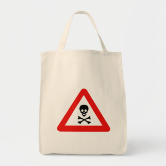 Slow Minefield (1), Traffic Sign, UK Tote Bag
