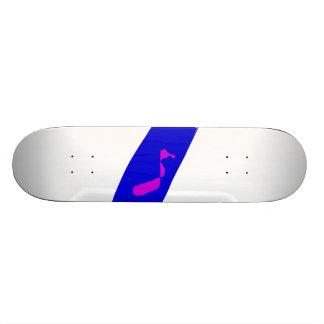 Slow Move Blue Chili Skateboard Deck