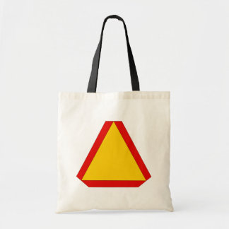 Slow Moving safety sign construction farm business Tote Bag