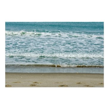 Art Themed Slow Moving Waves Photo Print