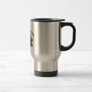 Slow On Down 15 Oz Stainless Steel Travel Mug