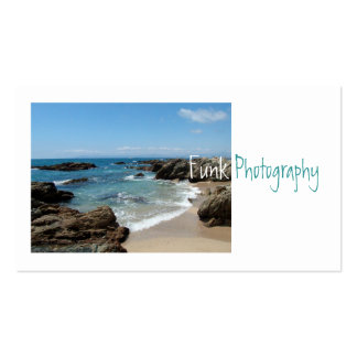 Slow Pacific Waves Business Card