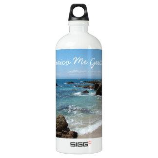 Slow Pacific Waves; Mexico Souvenir SIGG Traveler 1.0L Water Bottle