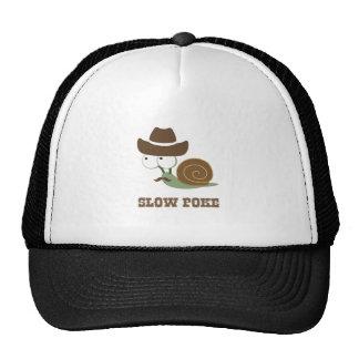 Slow Poke! - Cowboy Snail Trucker Hat