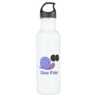 Slow Poke Periwinkle Snail 24oz Water Bottle