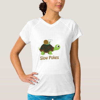 Slow Pokes - Turtle and Snail T-Shirt