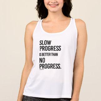 Slow progress is better than no progress -  .png tank top